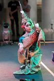 CAMBODIAN CLASSICAL DANCES Royalty Free Stock Photo