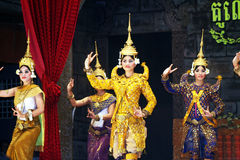 Cambodian dance Royalty Free Stock Image