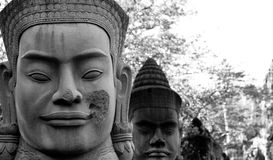 Cambodian Face Royalty Free Stock Images