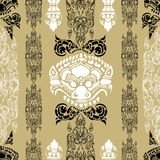 Cambodian floral pattern Royalty Free Stock Photography