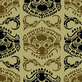 Cambodian floral pattern Stock Images