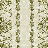 Cambodian floral pattern Royalty Free Stock Photo