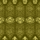 Cambodian floral pattern Stock Photos