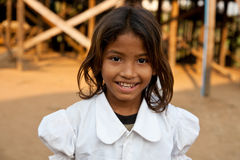 Cambodian girl Stock Photo