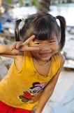 Cambodian girl Royalty Free Stock Images
