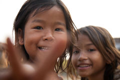 Cambodian girls Royalty Free Stock Photos