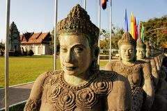 Cambodian Independence Monument in Siem Reap Royalty Free Stock Photo