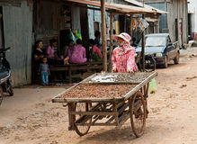 The Cambodian life Royalty Free Stock Photography