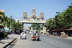Cambodian man Royalty Free Stock Photography