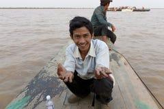 Cambodian man Royalty Free Stock Photo