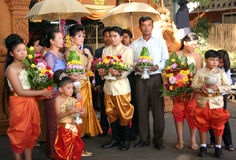 Cambodian marriage Stock Photos