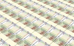Cambodian money bills stacks background. Stock Image