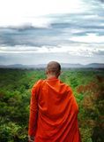 Cambodian Monk Stock Photo