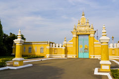 Cambodian Royal Palace Gates Stock Photos