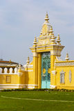 Cambodian Royal Palace Gates Royalty Free Stock Photography