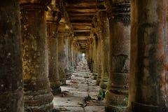 cambodian rujnuje świątynię Obrazy Royalty Free