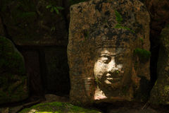 Cambodian statue art Stock Photography