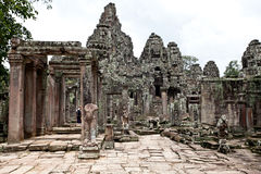 Cambodian temple. Ancient Cambodian temple in the Jungle royalty free stock image