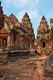 Cambodian temple Royalty Free Stock Photography