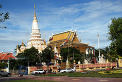 Cambodian temple Royalty Free Stock Image