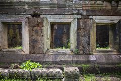 Cambodian temple near Phnom Penh with architecture similar to angkor wat siem reap. Cambodia Stock Photo