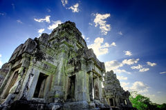 Cambodian temple ruins Stock Images