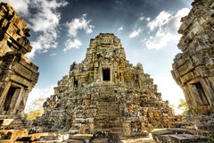 Cambodian Temple Ruins Royalty Free Stock Photography