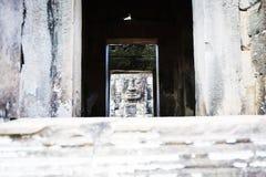 Cambodian temple ruins Stock Photos