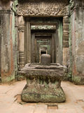 Cambodian temple symbol Royalty Free Stock Images