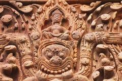 Cambodian temple, Thailand. Phanomrung Cambodian temple detail, Korat, Thailand Royalty Free Stock Images