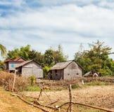 Cambodian village Royalty Free Stock Photos