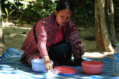 Cambodian Woman Stock Image