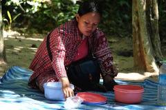 Cambodian Woman Stock Image
