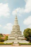 Cambodja Royal Palace, stupa Arkivfoton