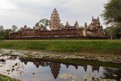 Cambodja slott Arkivfoto