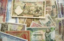 Cambodjaanse Riels Stock Foto's