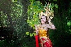 Cambodjaanse vrouw Stock Afbeelding