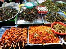Cambogian Delicacies Stock Photography