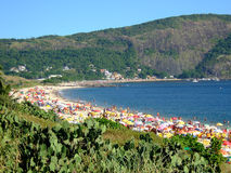Camboinhas beach. In Niterói, Rio de Janeiro, Brazil royalty free stock photos