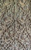Camboja, cinzeladura bonita foto de stock royalty free