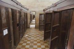 Camboja - museu da prisão S-21 fotos de stock