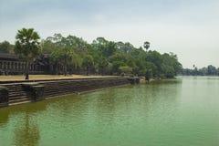 Camboya Angkor Wat. Fotos de archivo libres de regalías
