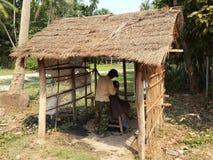 camboya barbershop Provincia de Siem Reap Imagen de archivo libre de regalías