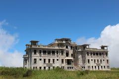 camboya Palacio abandonado de Bokor del hotel Montaña Bokor Ciudad de Kampot Provincia de Kampot Fotografía de archivo libre de regalías