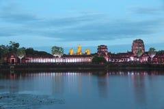 camboya Templo de Angkor Wat Provincia de Siem Reap Ciudad de Siem Reap Foto de archivo