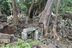 camboya Templo de Banteay Chhmar Provincia de Banteay Meanchey Sisophon Sity Foto de archivo