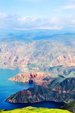 Cambra National Forest Park in Qinghai Geological Royalty Free Stock Photos