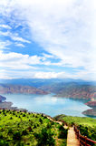 Cambra National Forest Park in Qinghai Geological Royalty Free Stock Images