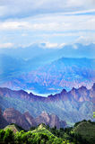 Cambra National Forest Park in Qinghai Geological Stock Photo