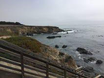 Cambria linii brzegowej centrali wybrzeże California Zdjęcie Stock